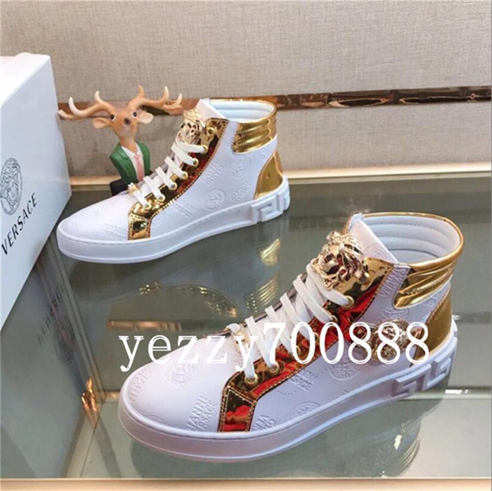 2019 senhoras de alta qualidade botas altas botas polegadas selvagens salto alto primeira camada material PVC femininas sapatos casuais fdzhlzj originais