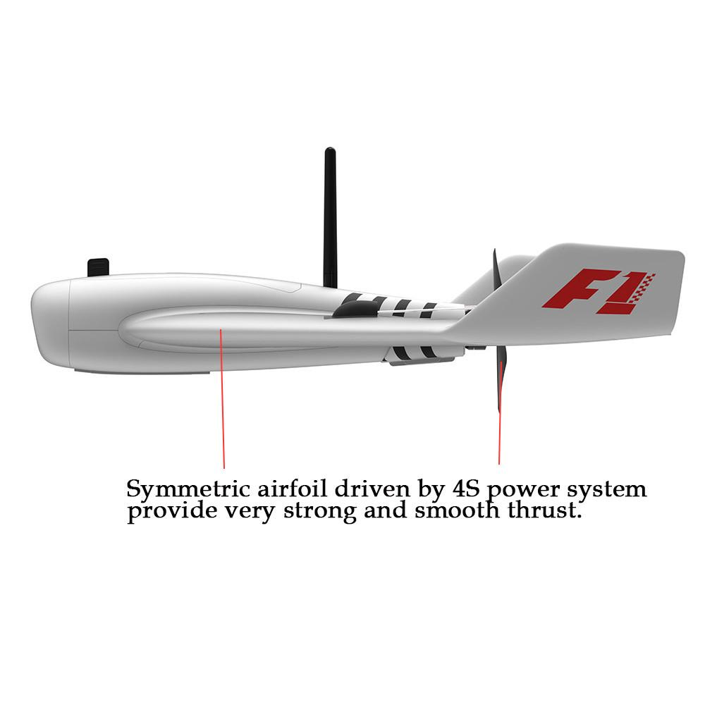 RC Plane F1 Wing 83.3cm Wingspan Super High Speed FPV EPP Racing Wing RC Airplane PNP / FlySky FS-i6 2.4G 6CH AFHDS Transmitter