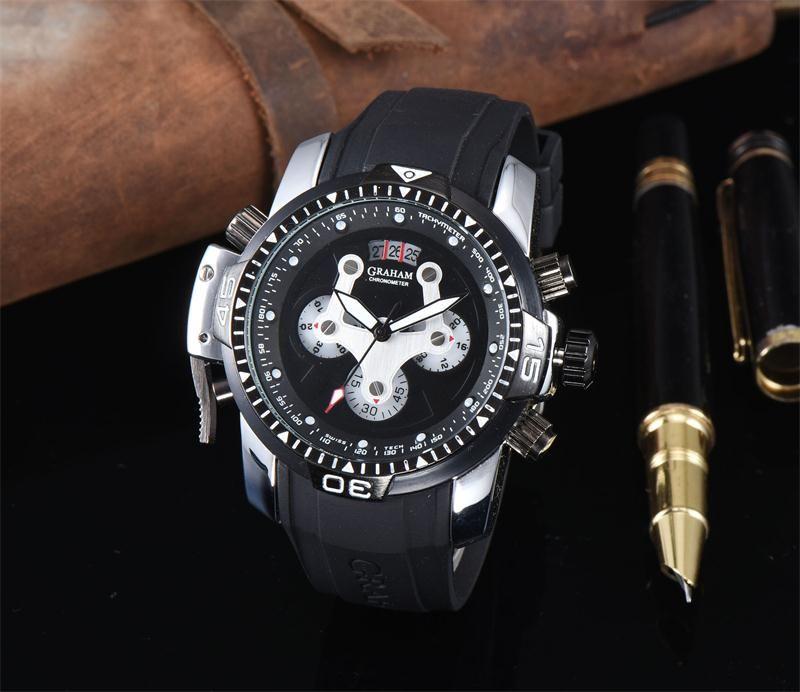 3a мужские часы кожа royal oak кварцевые мужские часы DZ Watch Luxury Watch Top Brand Tag наручные часы хронограф часы все Subdials работа