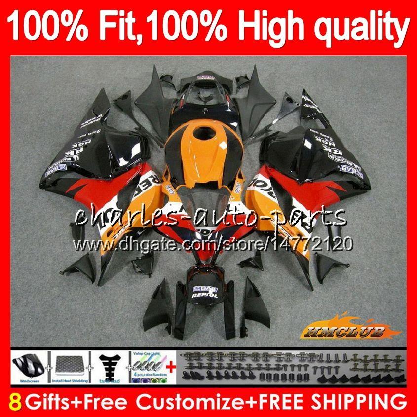 OEM Vendita Arancione iniezione per Honda CBR 600 RR CBR600RR 600F5 74HC.2 CBR600 RR CBR 600RR 600CC F5 2009 2010 2011 09 10 11 12 carenatura
