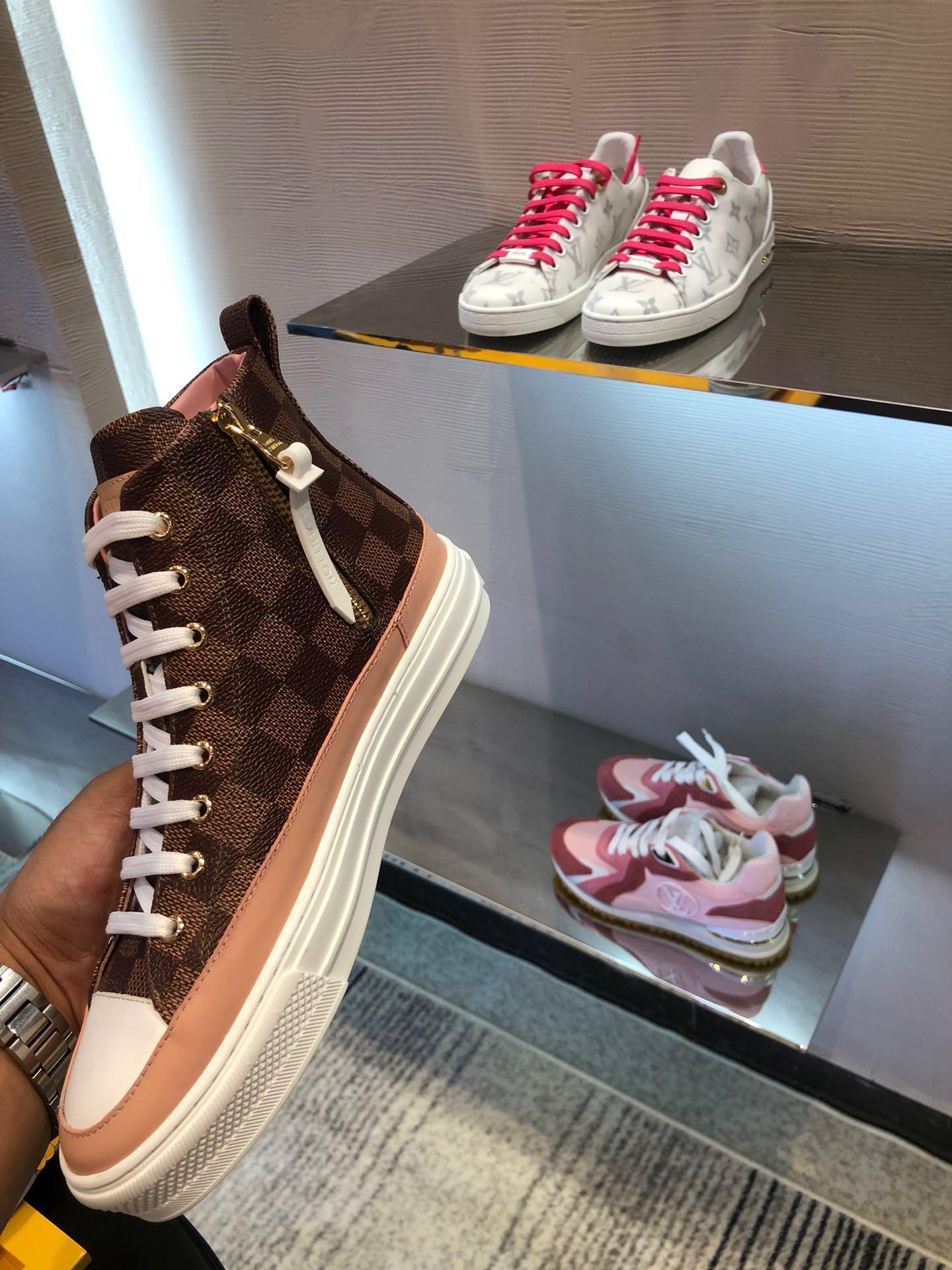 louis vuitton LV 2020 Incontri artefatto per le donne designer scarpe di lusso Casual Shoes Discoteca scarpe da ginnastica di materiale avanzato con scatola