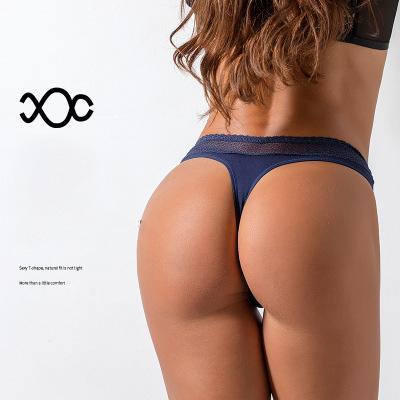 Mulheres Designer Cueca Thong perfeita esportes sexy céu aberto rendas LINGERIE pugilistas alta elasticidade superior quatliy luxo