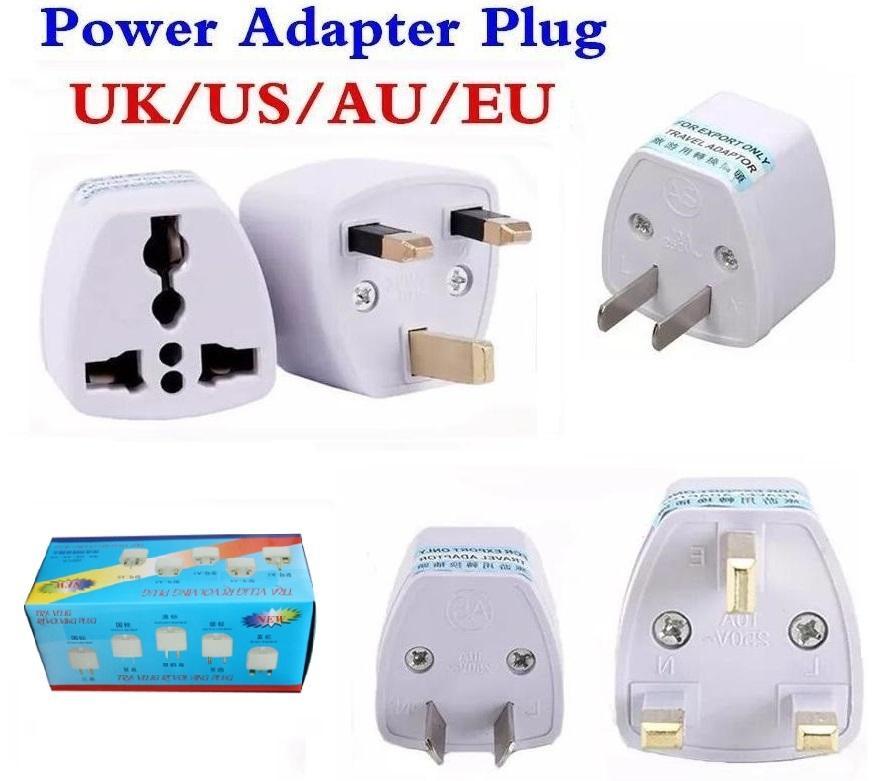 AC Güç UK AU AB için ABD fiş adaptörü Dönüştürücü ABD Evrensel Güç Priz Adaptador Bağlayıcı