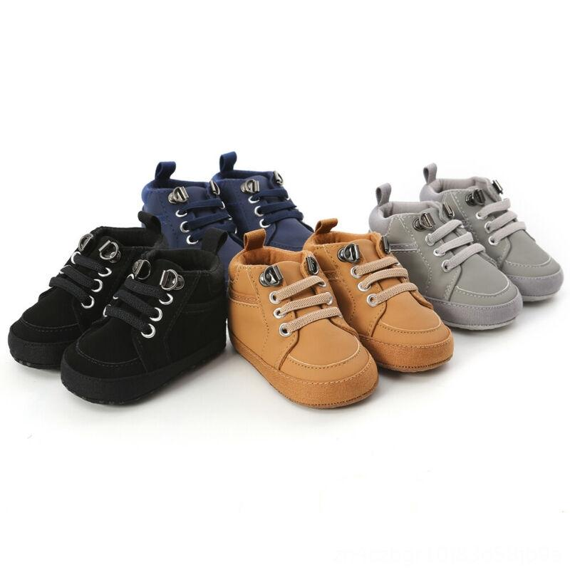Toddler Infant Baby Boy Girl Athletic & Outdoor Leather ...