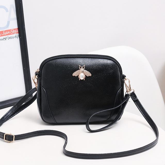 جديد الموضة للنساء صغيرة قذيفة حقيبة أكياس سيدة PU الكتف عالية الجودة حقيبة الشحن