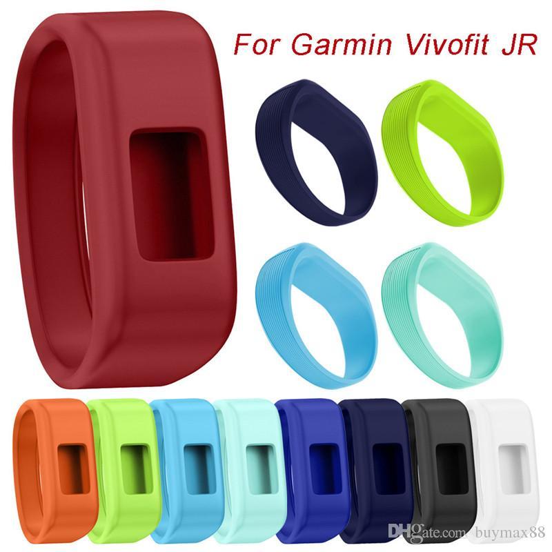 2019 새로운 도착 손목 시계 밴드 부드러운 실리콘 스트랩 교체 시계 밴드 Garmin Vivofit JR 스마트 시계
