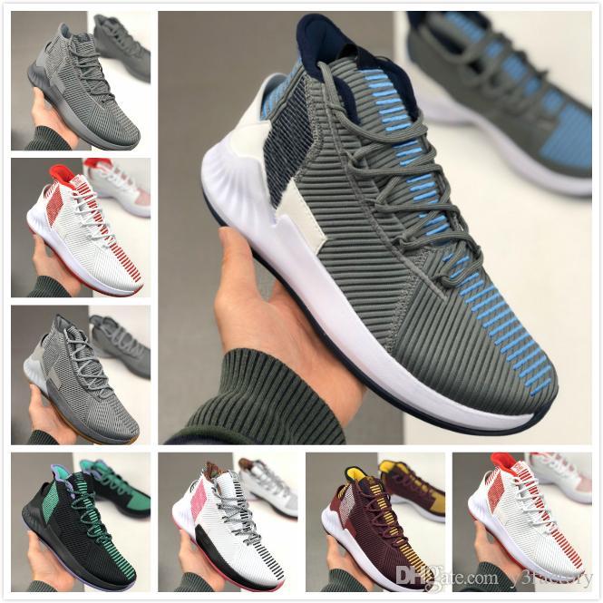 Nueva llegada 2020 9S moda para hombre Zapatos de baloncesto para hombre Rose 9 7 Formación de formadores de color zapatillas de deportes masculino Chaussures desigener 40-46