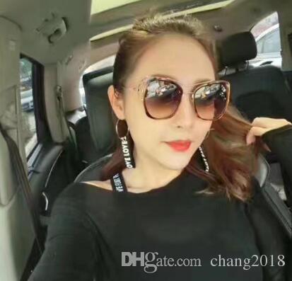 Yeni bayan erkek tasarımcı güneş gözlüğü 2019 moda sıcak satış üst qualtiy kadın erkek için tasarımcı güneş gözlüğü gmlsgi034