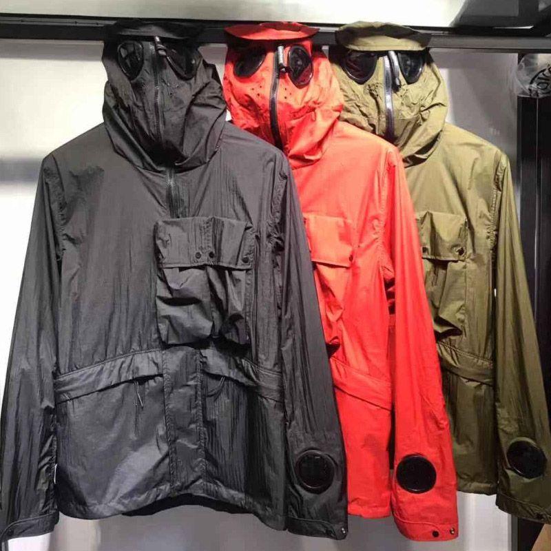 2020 Colores capas de foso Hombres Mujeres Winter Longo Calle Coats prendas de vestir exteriores de calidad superior Tres de los nuevos hombres M-2XL