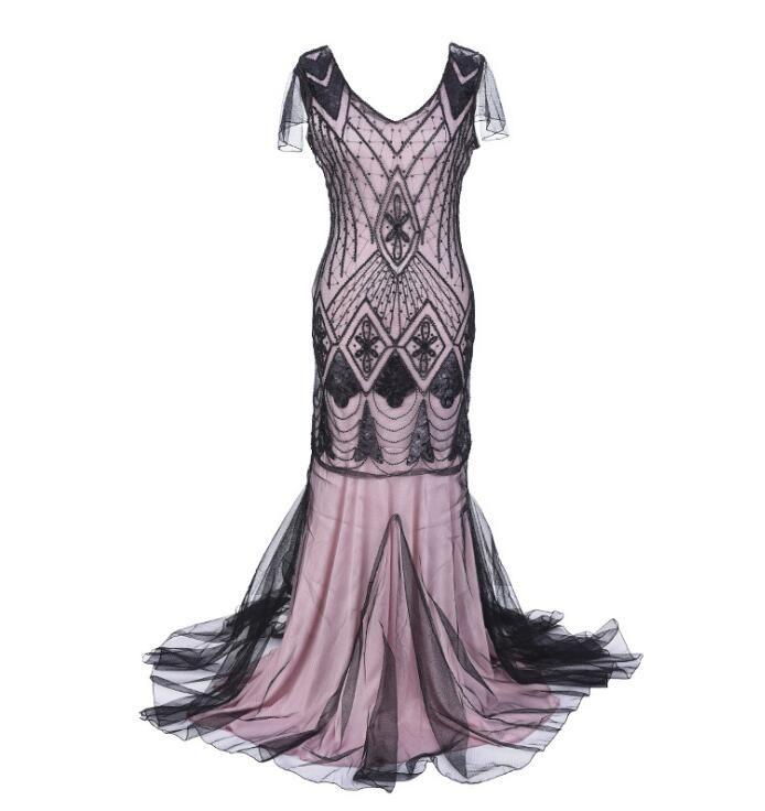 FF Designer brand dress sequins wedding chiffon Slim large size designer luxury GG brand dress women's clothing high quality hot sale