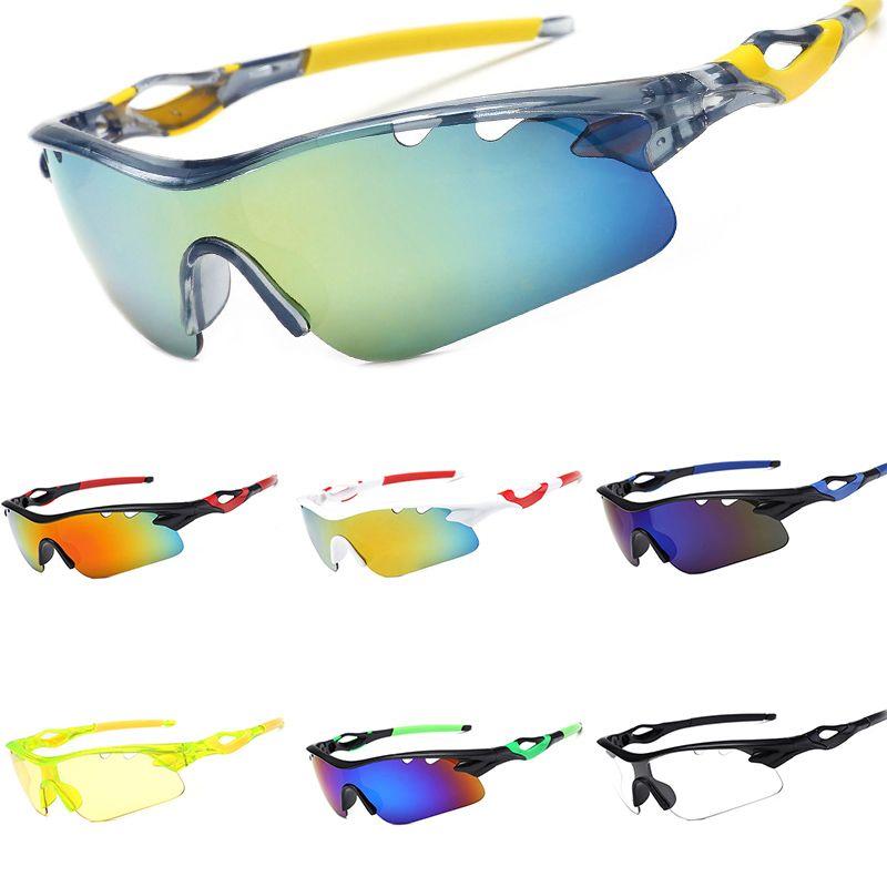 Lujosa montar las gafas de sol de los hombres del deporte al aire UV gafas de ciclismo 400 para mujeres de los hombres gafas de sol para Climbling