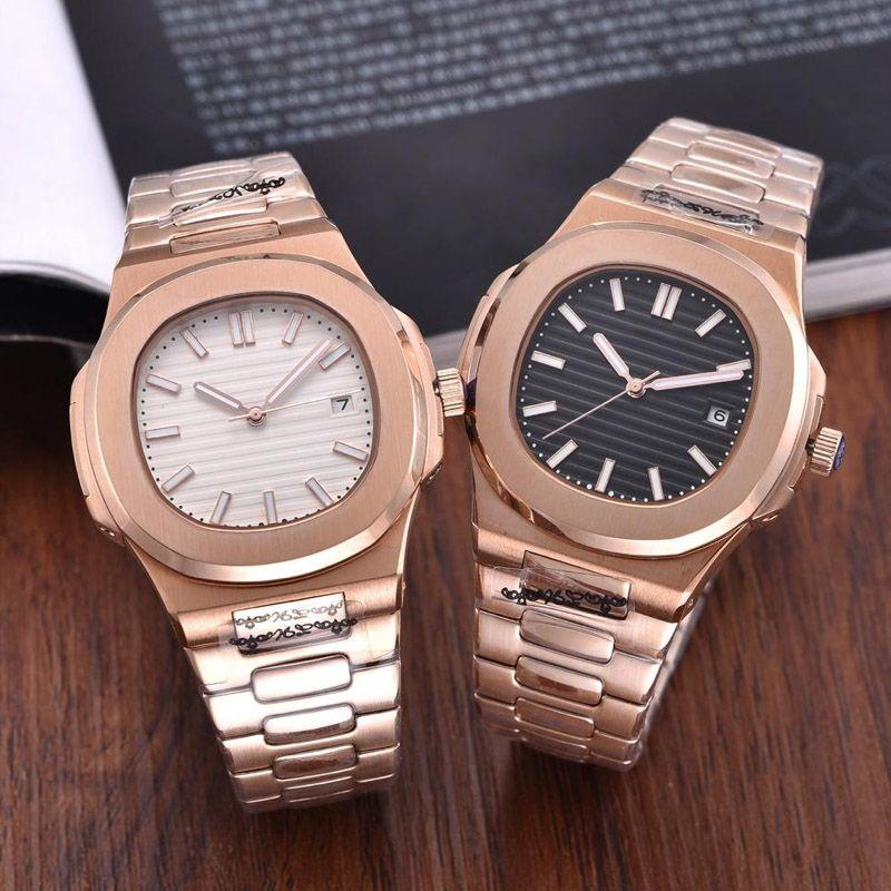 2021 Мода Часы Мужские Автоматические повседневные Часы 316L Нержавеющая ремень Человек Механический Orologio Di Lusso PP Наручные часы Монтер Де Люкс Первый Классический Horloge