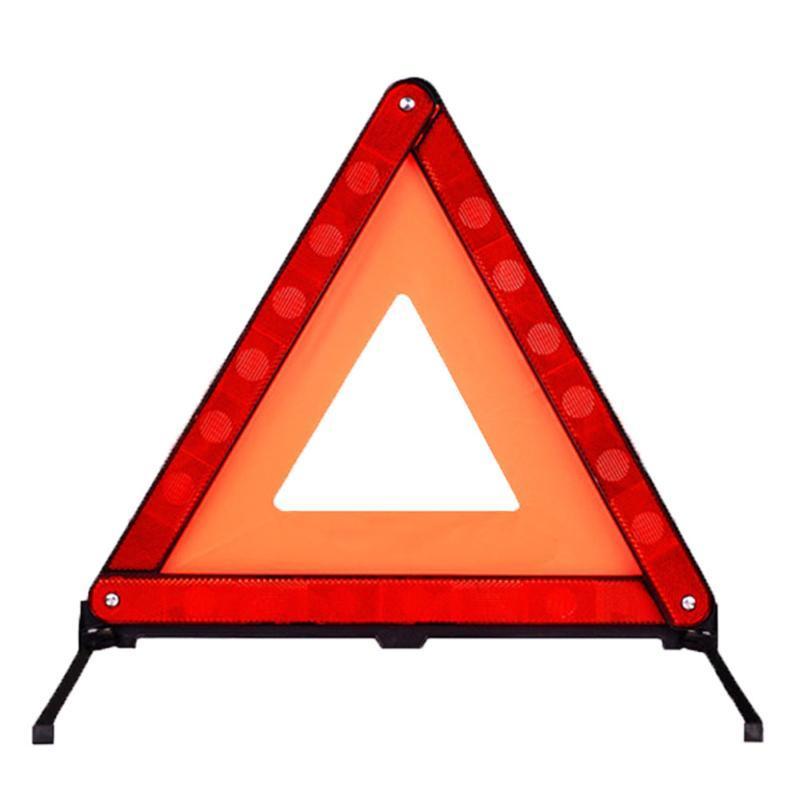 Van İşaret Dağılımı Acil Araç Uyarı Üçgen Katlanabilir düşünmesinin