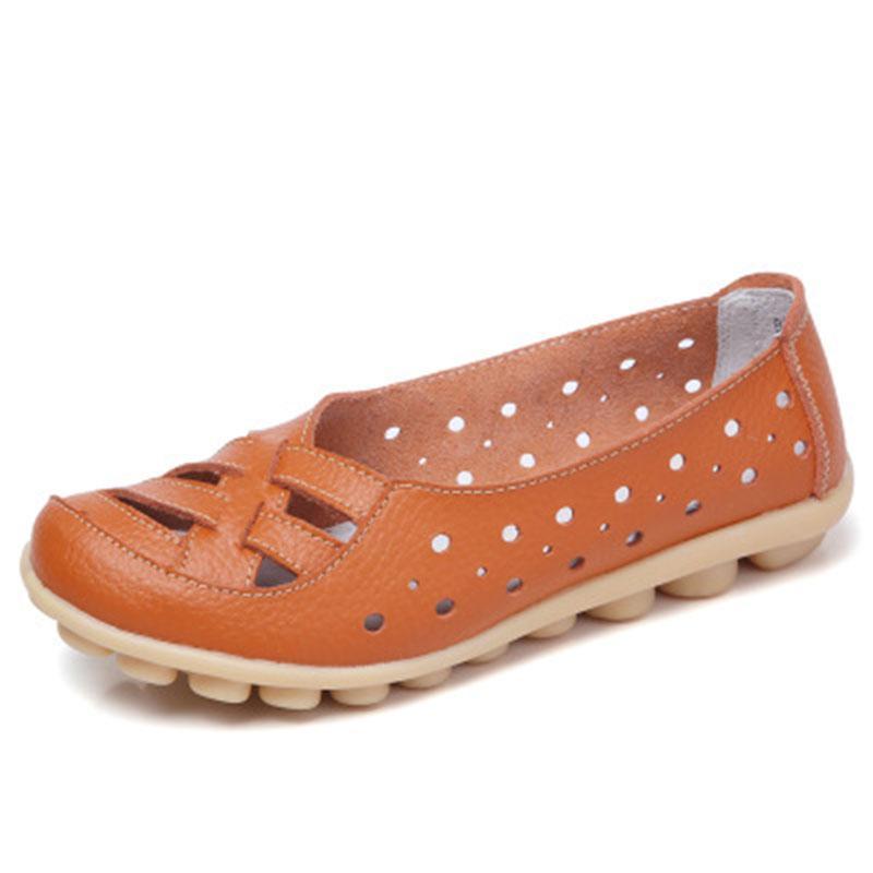 Femmes appartements véritables cuir femme chaussures femme casual de ballet plats femmes mocassins chaussures plates chaussures femmes chaussures cuir chasseurs femm