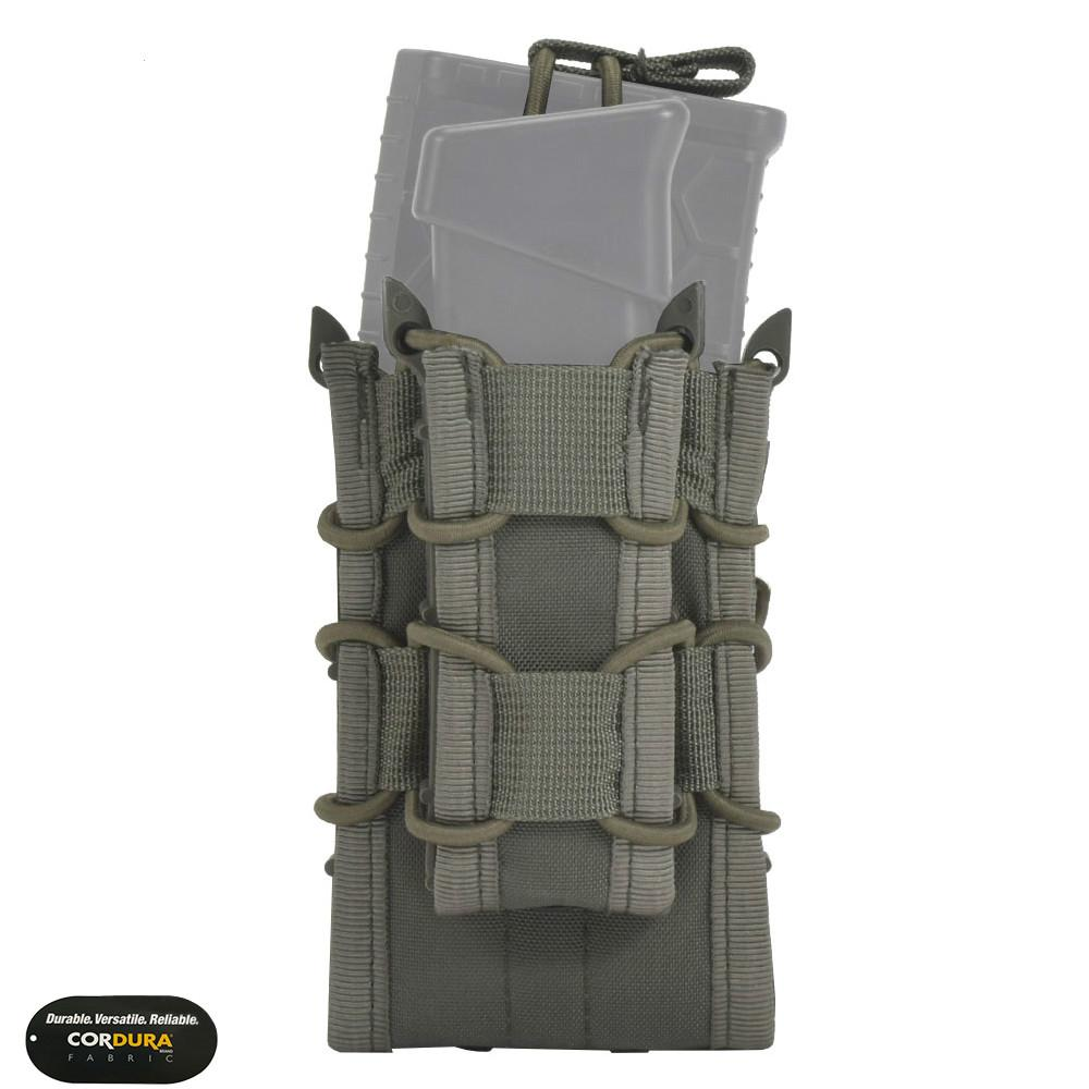 EMERSONGEAR Dual Decker Mag Pouch Airsoft Mag Pouches Emerson Bag Camouflage MOLLE Mag Holder Coyote Brown Black
