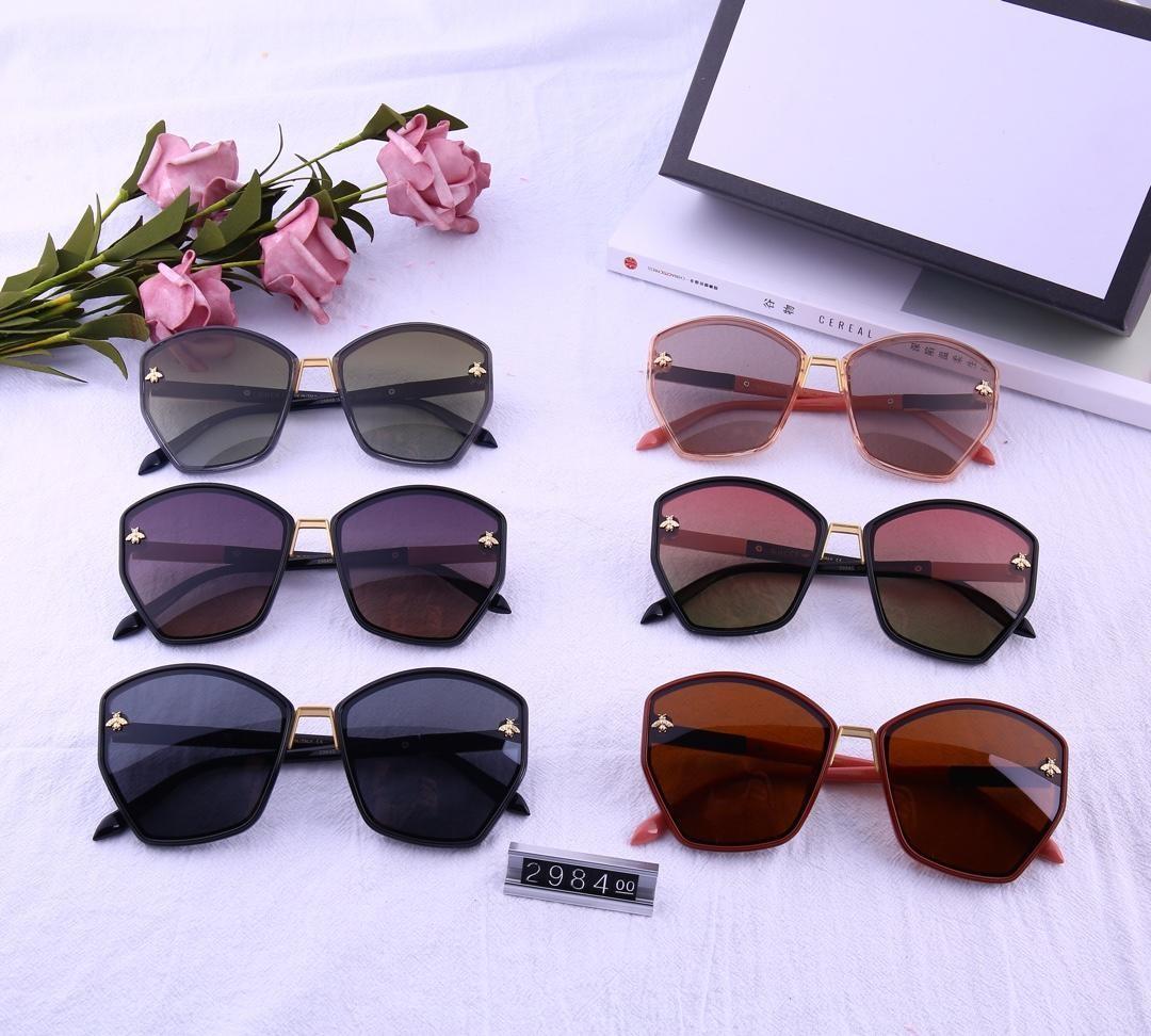 Diseño gafas de sol 2019 nuevas gafas de sol polarizadas para damas HD polarizados modelo de lente 2984