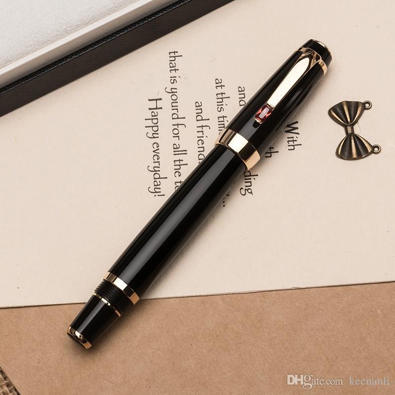 شحن مجاني السعر الترويجية 25310 الأسطوانة القلم كريستال مكتب مدرسة الموردين عالية الجودة قلم حبر جاف جودة أفضل