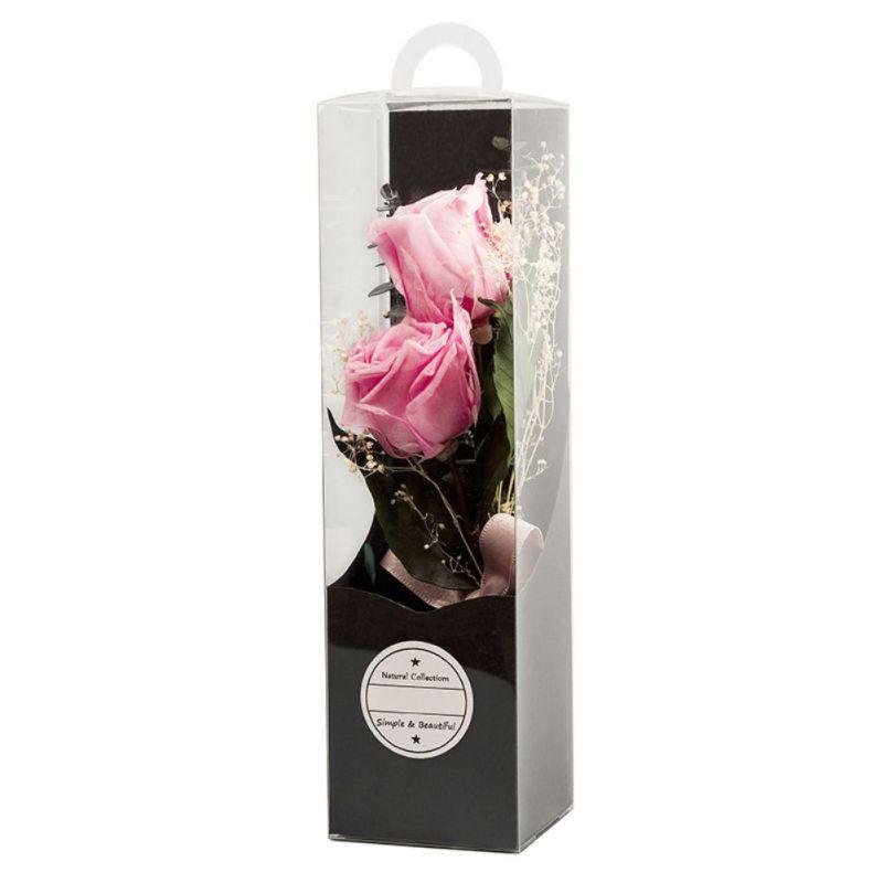 Immortal Rose Konservierte Rosen-Blumen-Mutter-Tag DIY Hochzeit Äonenleben Blume Material Geschenk