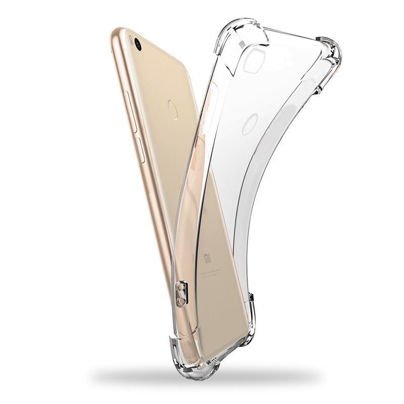 Hava Yastık Köşe Şeffaf Ultra Silm Yumuşak TPU Kauçuk Kapak Kılıf İçin redmi K30 K20 Pro Note8 Pro 8A 7A 6 Full Anti-çizik