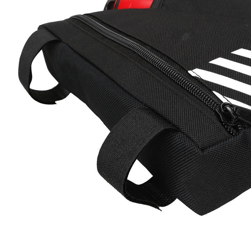 Каркасных сумки Водонепроницаемого треугольника велосипед сумка Велоспорт передней сумка велосипеды чехлы аксессуары велосипедов (не включить бутылку воды)