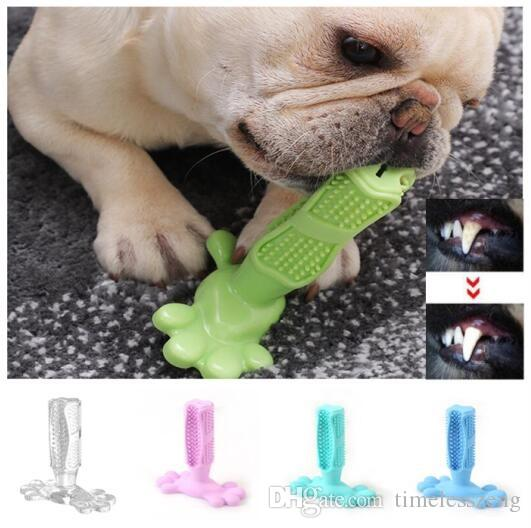 Creative Dog Toothbrush Toy Brushing Stick Molar Rod Pet Molar Toothbrush Puppy Tooth Healthcare Teeth Cleaning Chew Toy Brush Grooming
