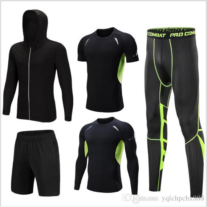 Veste zippée respirante et à séchage rapide Vêtement fitness Vêtement de course à pied Sports Suit