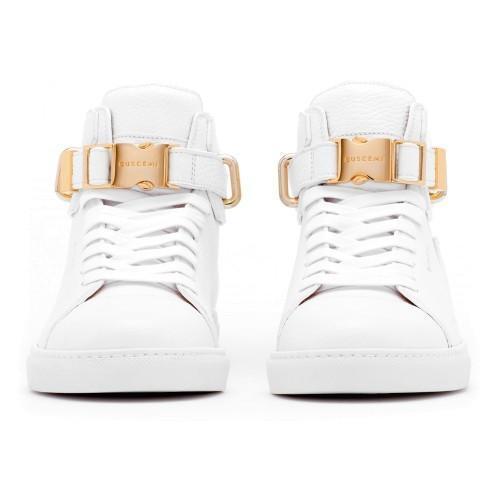 2019 Luxury Designer Men Black Sneakers Top Cowhide Fashion Mens Comfortable Casual Flat Shoes high shoes Lock shoe Red / black / White n071