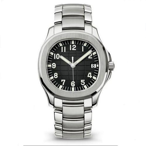 Yeni kol saati Akuanot'tan mekanik otomatik hareketi paslanmaz çeliğin kayış erkek erkek spor saati kol saatleri saatler