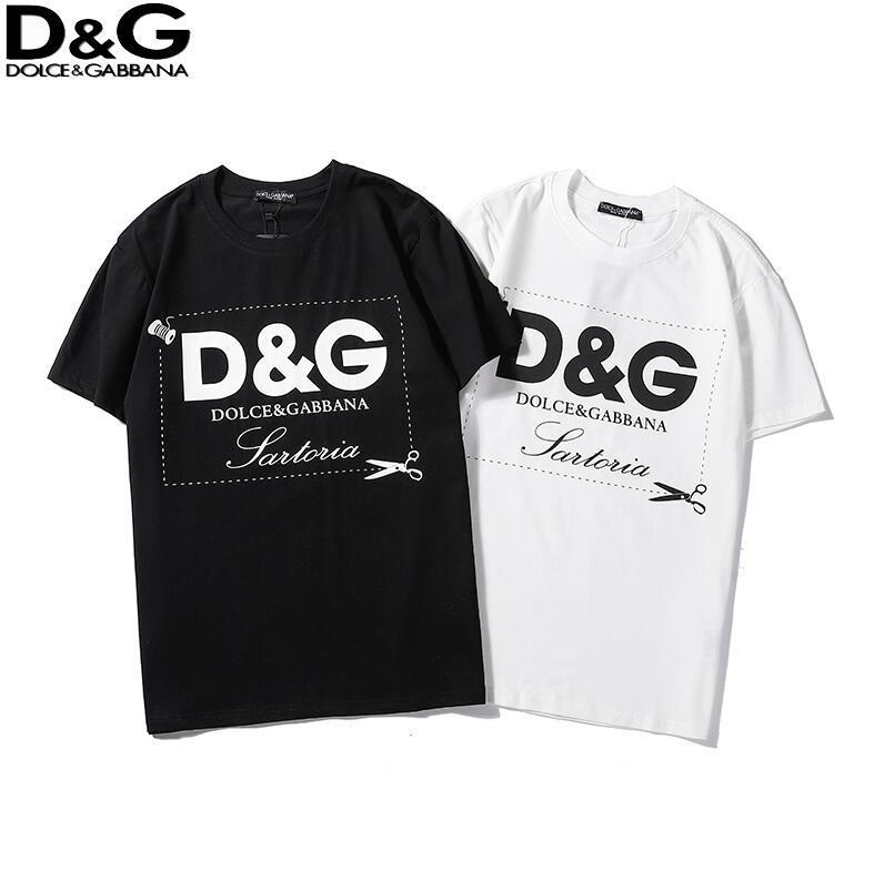 Mode Luxusmarke Buchstabe T-Shirts der Frauen Männer HipHop Baumwollkleidung T-Shirt-runder Kragen-Mann Tops Sommer Kurzarm-Shirt q7