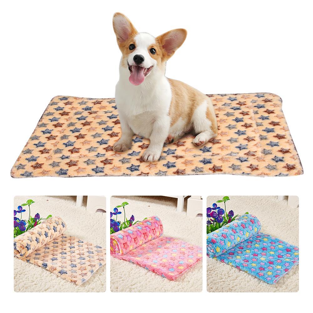 Blanket Pet Puppy Dog Cat Bed Mat Accueil doux chiot chat décoration Animaux sommeil Fournisseur Matelas Réchauffer Coussin Pet Cover