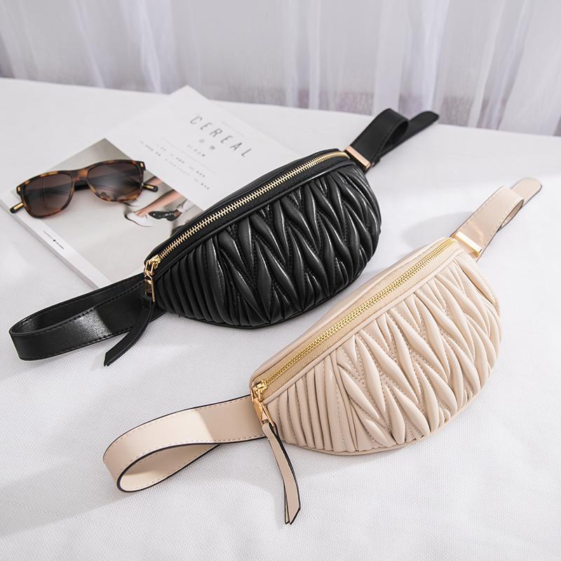 Femmes Sacs Taille Waist Packs Mode Cuir Torse Sac Kenken Sacs à bandoulière Fanny ceinture pack