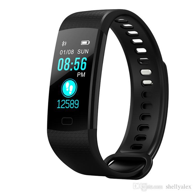 Smart Bracelet Wristband Fitness Tracker Message Notification Heart Rate Sleep Pedometer Sport Activity Tracker for iphone Samsung