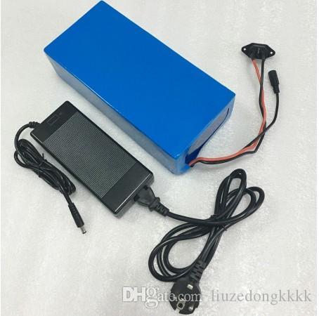 Taxe gratuite 52V 15AH batterie au lithium 52V 15AH batterie de vélo électrique 51.8V batterie de scooter pour 48V 500W 750W 1000W moteur Bafang