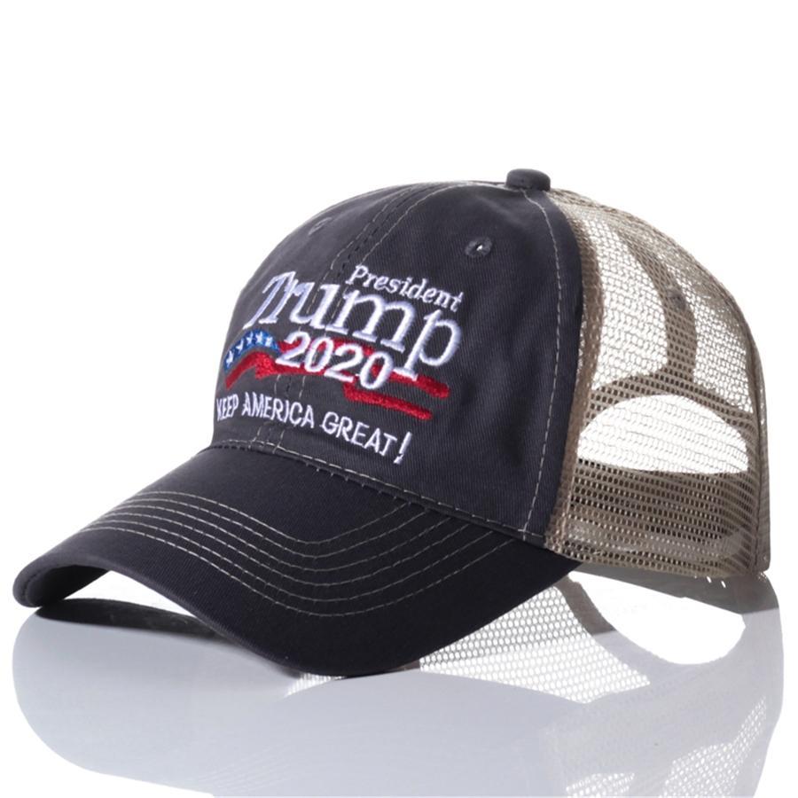 Yeni Başkan Trump 2020 Şapka Nakış Abd Bayrağı Maga Beyzbol şapkası Nakış Başkanı Trump Hat 11 Stiller # 883