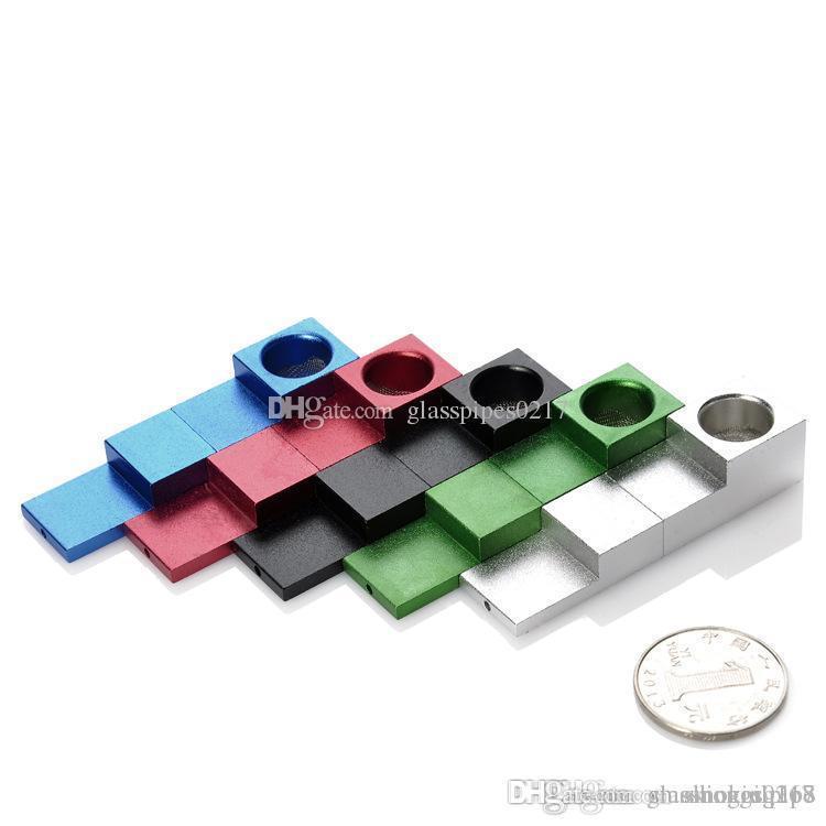 горячая супер металлическая магнитная труба Tink Sky Mini Type складной металлический Магнит сигарета табак курительная трубка Магнит складная труба