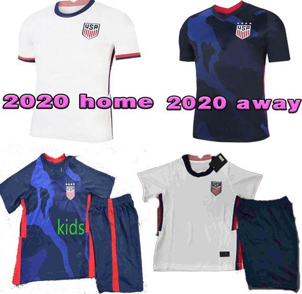 4 yıldız 2020 2021 ABD PULISIC Futbol Forma 2020 2021 DEMPSEY Morgan RAPINOE LLOYD ERTZ Amerika adam çocukları Futbol atletler Birleşik Devletleri