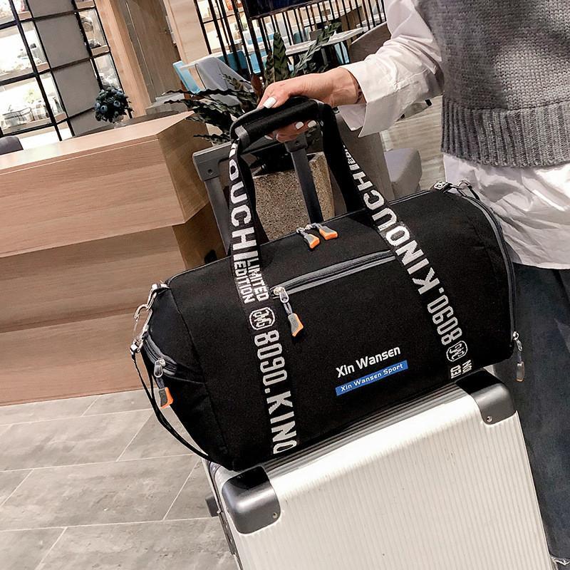 With Shoes Space Storage Handbags Travel Beach Bag Duffel Bag Shoulder Bags Fitness Yoga Exercise Bags Large Capacity Stuff Sacks