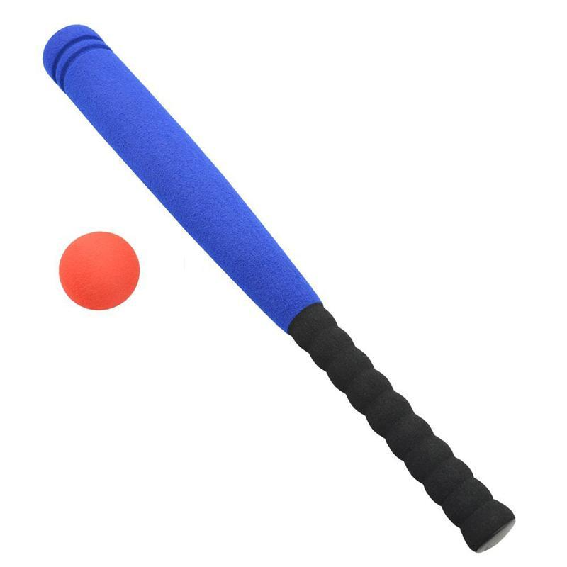 Super Safe Foam Baseball Bat with Baseball Toy Set for Children Age 3 to 5 Years Old (Blue)