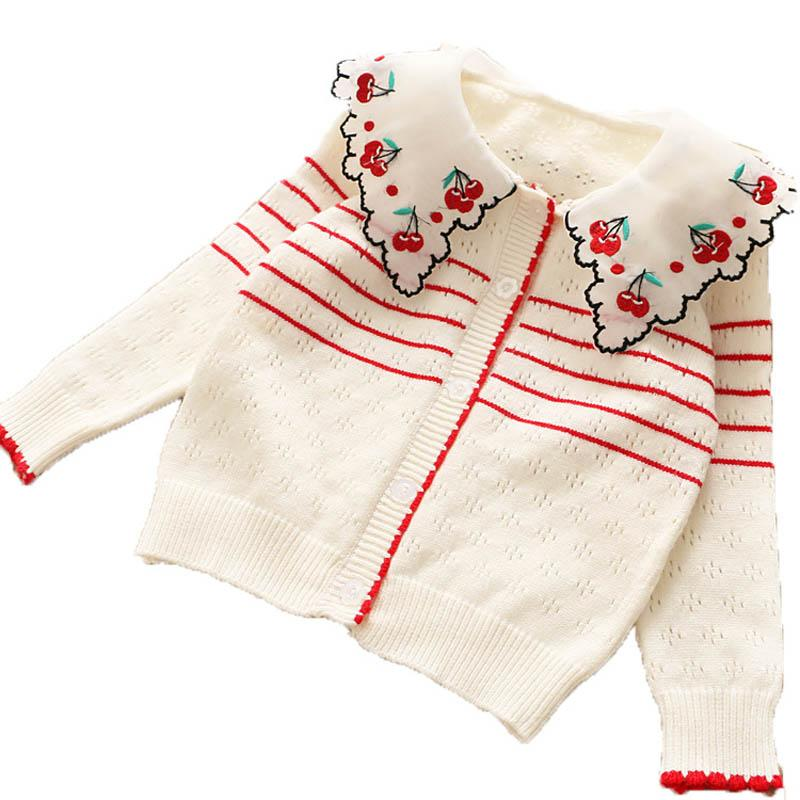 New Kids Boutique Clothing Cute Knitting Girls Cardigan Kids Designer  Clothes Girls Sweaters 2019 New Autumn Kids Cardigan Coat A7456 Childrens