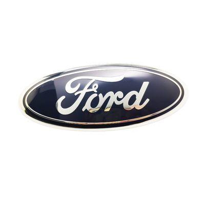 5pcs For Ford Car Emblem Badges Front Rear Engine Bonnet Emblem Dark Blue F150 Front Badge