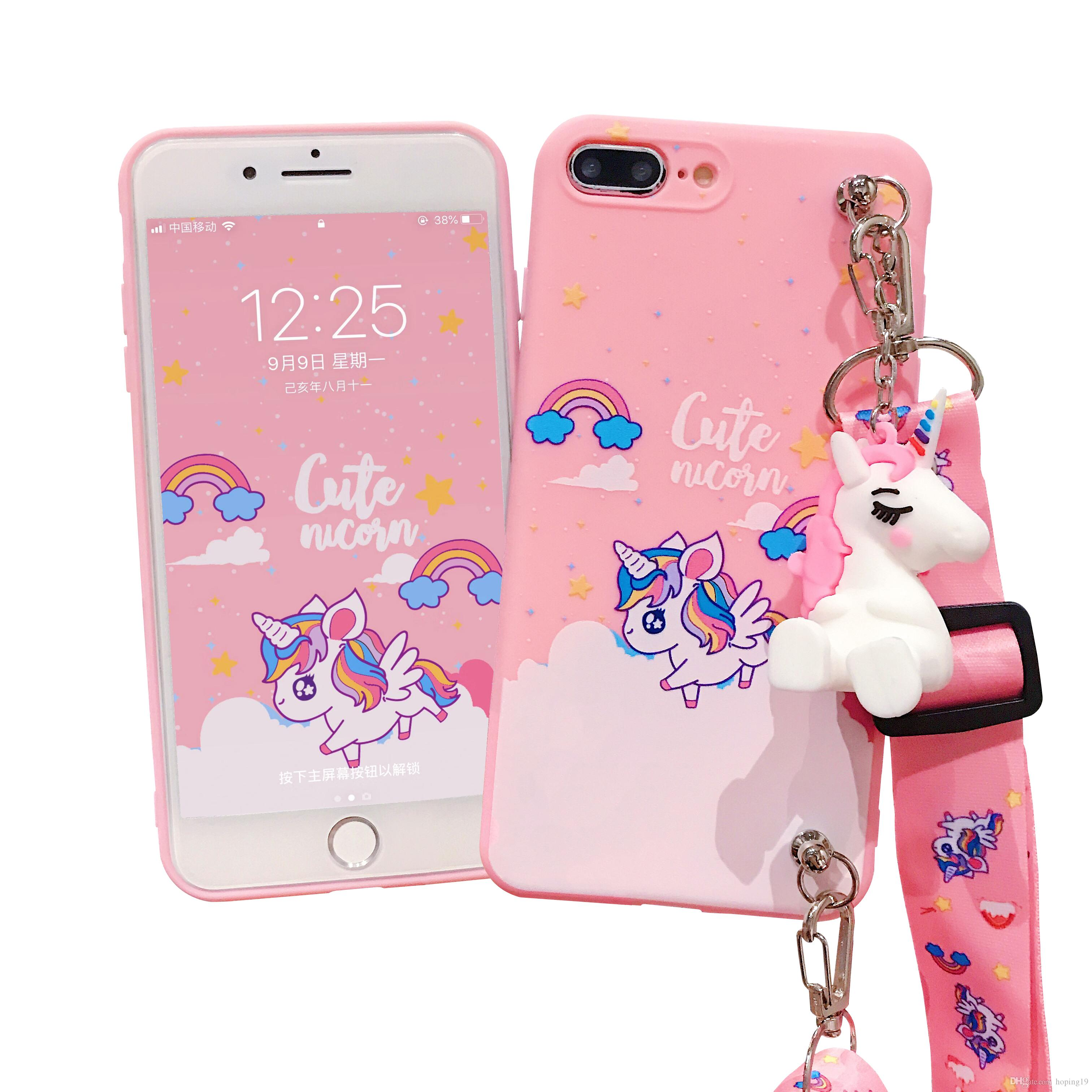 Unicorn Soft Silicone Phone Case Cover For Iphone Xs Xr Xsmax ...