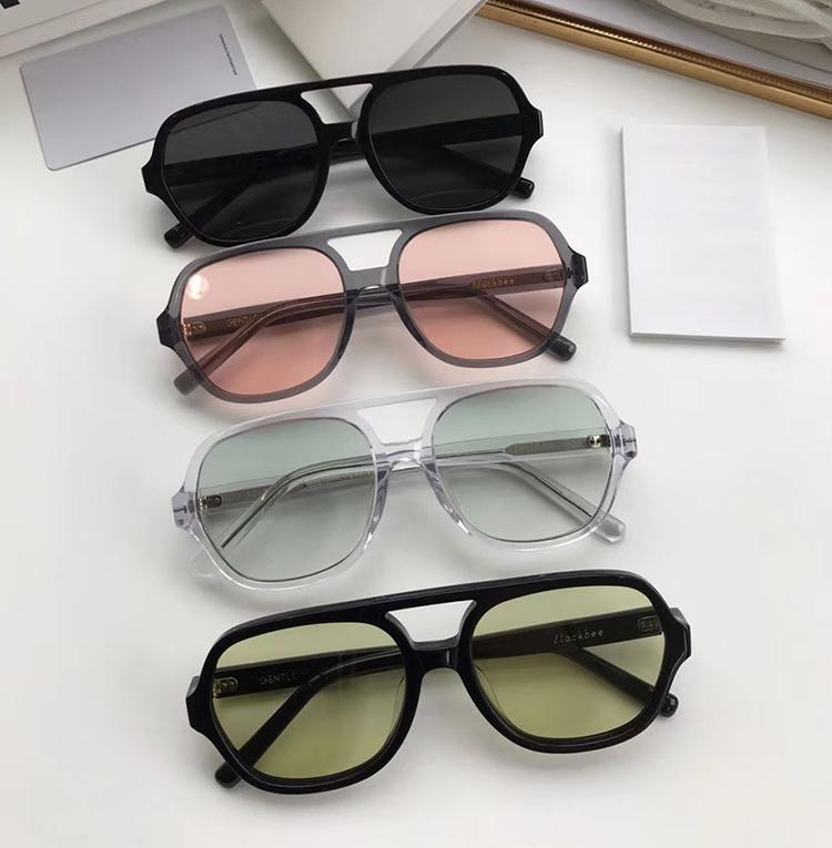 2020 New Gradient Polarized Sunglasses Acetate Glasses Man women Driving Anti Glare Gentle Brand High Quality Frog Sunglass
