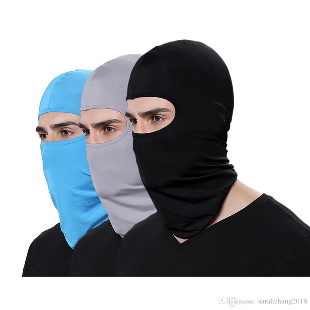 Ciclismo collo del motociclo della maschera di inverno caldo Sci Snowboard vento Cap polizia Passamontagna sport esterni tattico Visiera