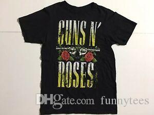 Guns N Roses unisex Size M Black Crewneck t 100 cotton