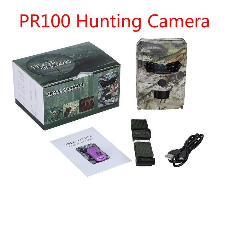 2020 PR100 Hunting Camera 110° Wide Angle Infrared Night Vision HD Hunting Camera Accessory