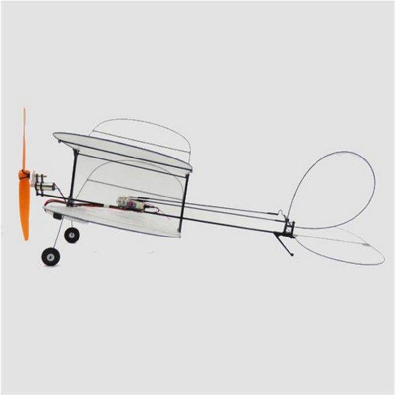 TY Model Black Flyer V2 Carbon Fiber Film RC Airplane Kit With Power System Good Models Gifts
