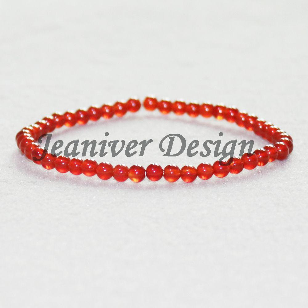 Jeaniver 2019 Bracelets De Cornaline Naturel Vintage Desing Yoga Pierre Bracelet De Mode Mini Gem Pierre Bracelet Drop Shipping