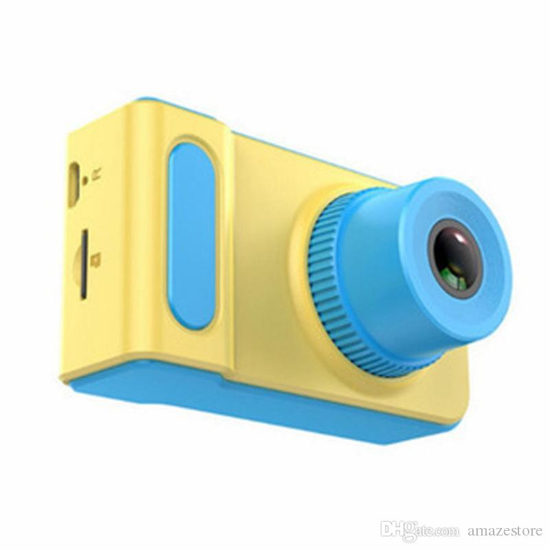 Kids Cameras HD 2.0 inch LCD Display Supports 32GB Memory Card Photo Mode 200,000 Pixels Video Recording DHL free