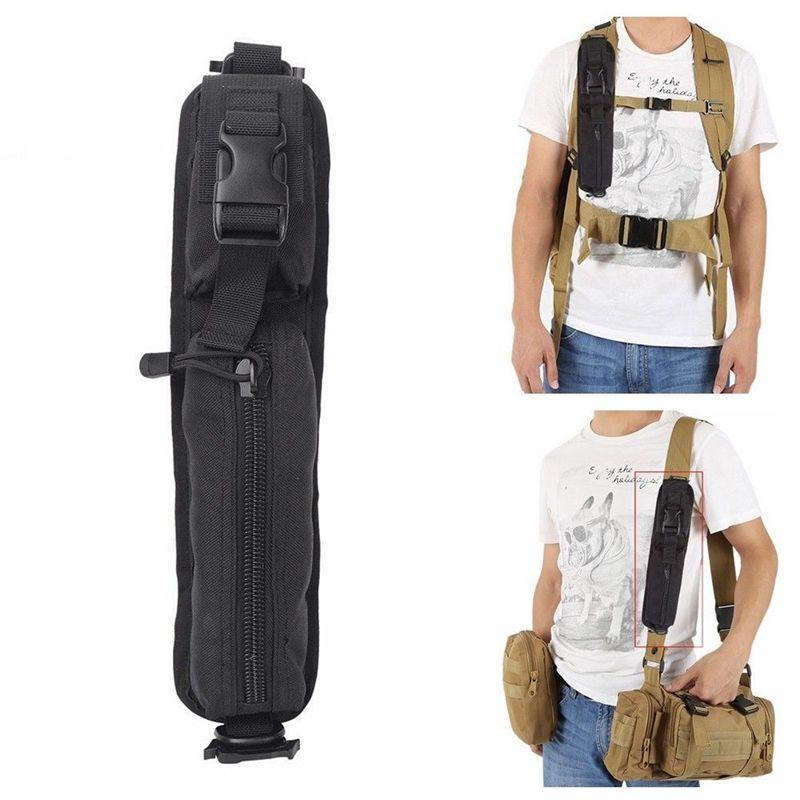 Rucksack Schultergurt Sundries Taschen Molle Entwurf Wasserdichtes Tactical Rucksack Protable Schultertasche Key Taschenlampe Beutel