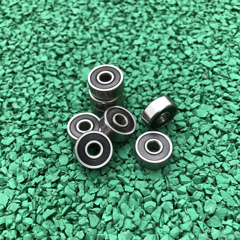 100 pçs / lote alta qualidade 625-2RS miniatura rolamento de esferas radial 625 625RS 5 * 16 * 5 selado rolamentos rígidos de esferas 5x16x5mm